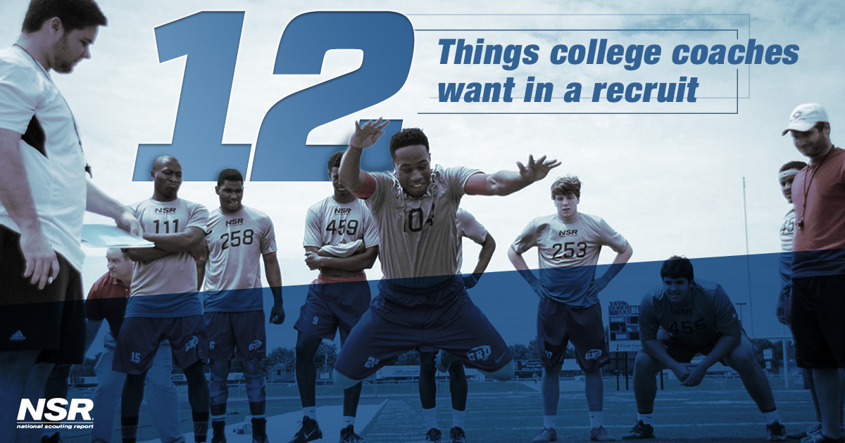 college coaches want