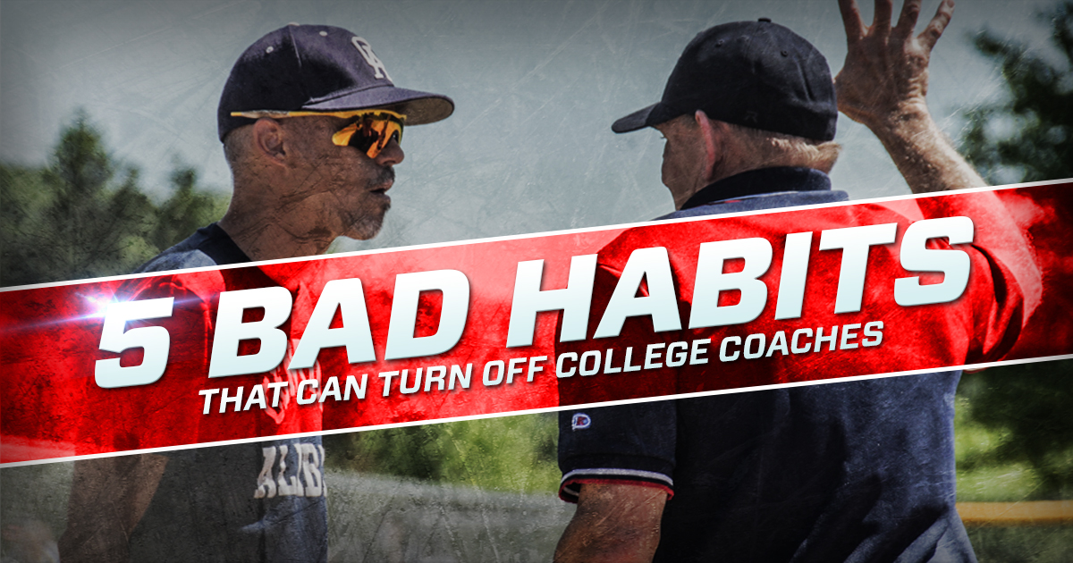 5 bad habits