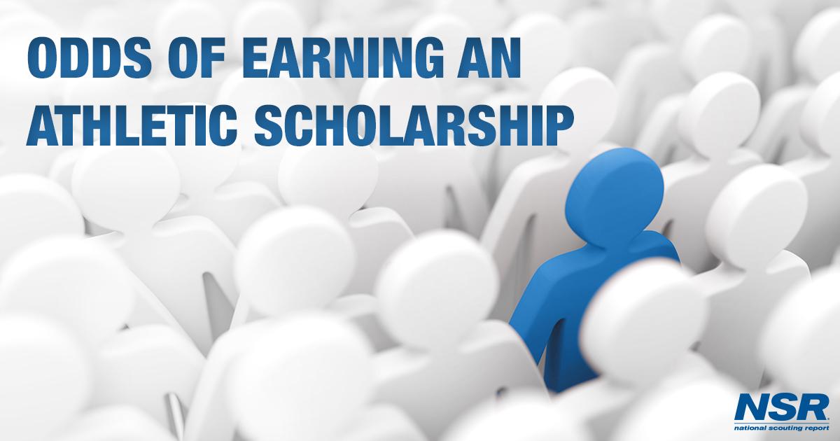 earning an athletic scholarship