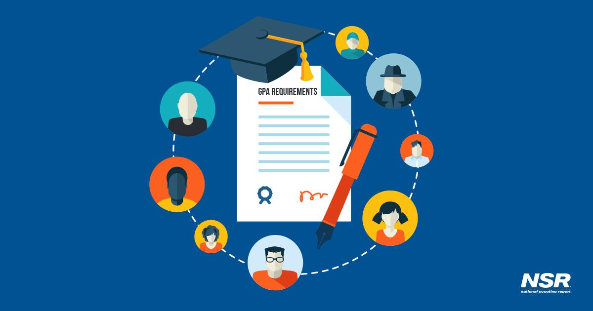 NCAA's GPA requirements