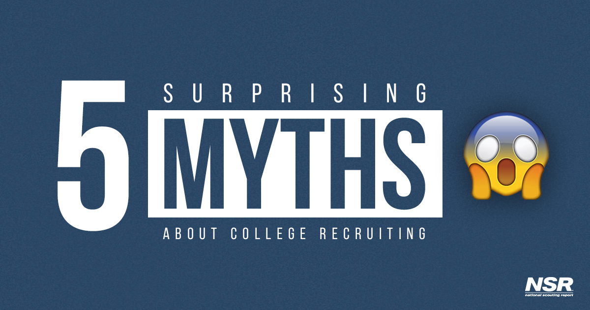 myths about the college recruiting process