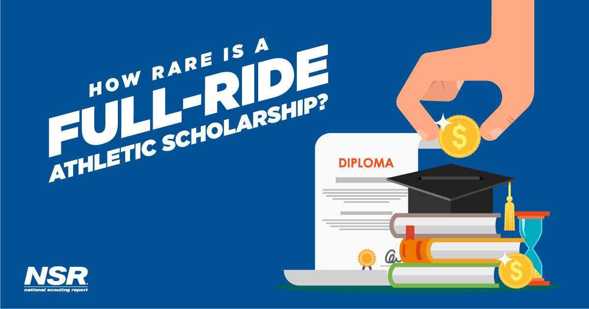 full-ride athletic scholarship