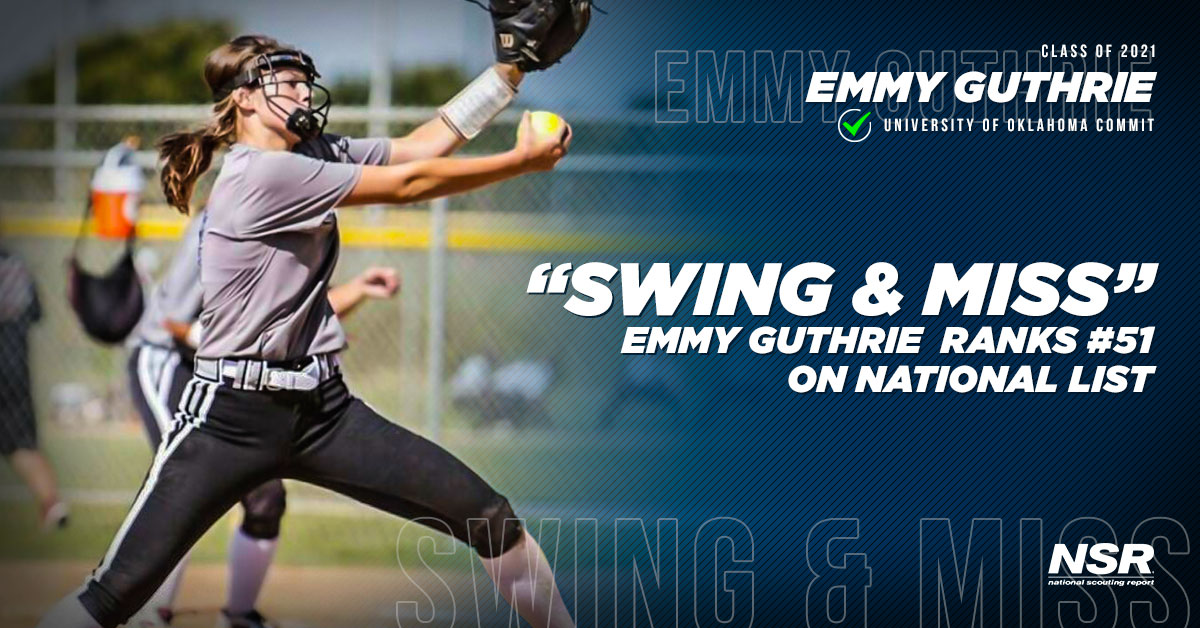 NSR Softball's Emmy Guthrie