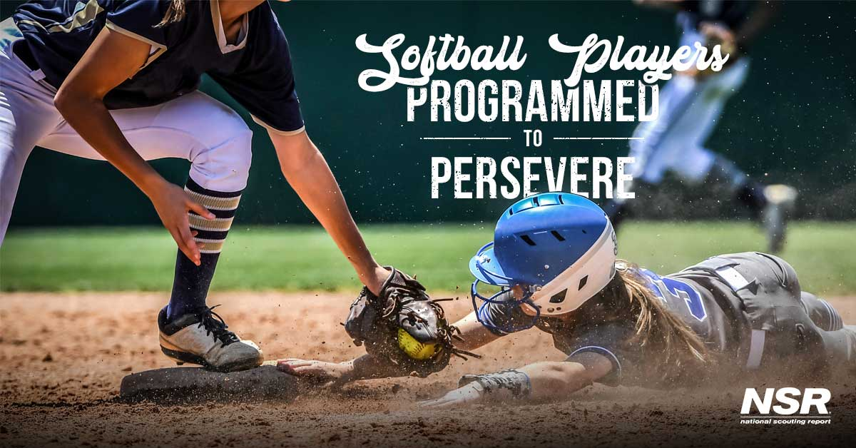 Softball Players are Programmed to Persevere