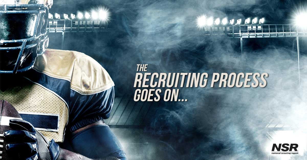 The Recruiting Process Goes On